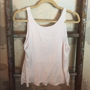 Feel the piece layered tank cut out XS/ S